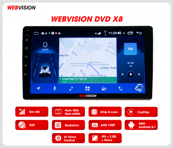 Webvision X8