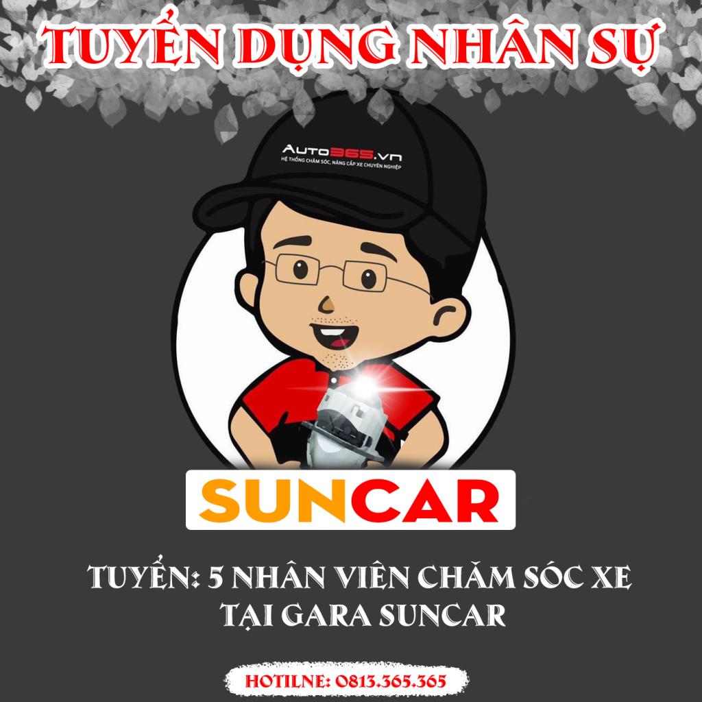 tuyen dung-suncar-he thong auto365 vinh phuc